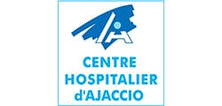 Logo centre hospitalier ajaccio